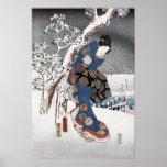 Posters y impresiones del geisha de la nieve