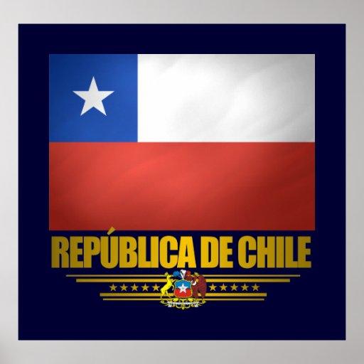 "Posters y impresiones del ""orgullo chileno"""