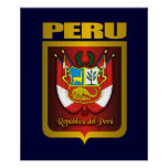 """""""Posters y impresiones del oro de Perú"""""""