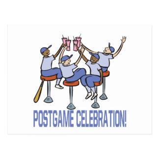 PostGame Celebration Postcard