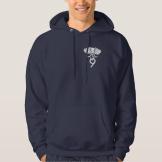 Postgres9 Navy Hoodie