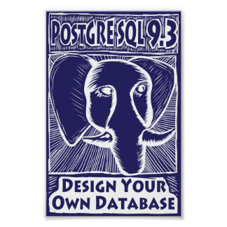 PostgreSQL 9.3 Poster