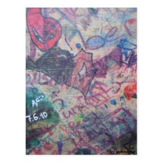 Postkarte - Grafitti