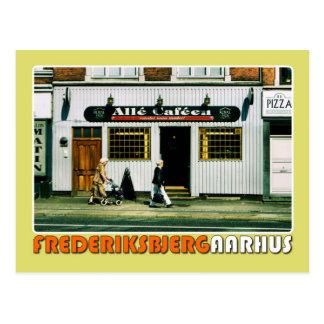 Postkort - Alle Cafeen Postcard