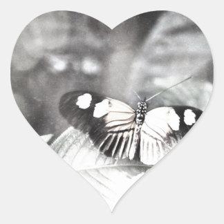 Postman Butterfly Heart Sticker