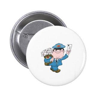 Postman 2 Inch Round Button