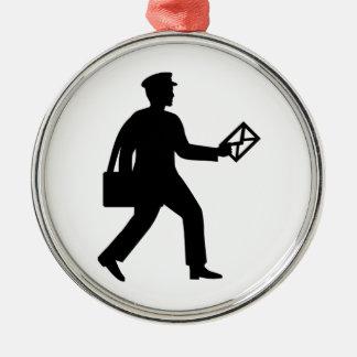 Postman Metal Ornament