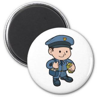 postman or Mail-man Magnet