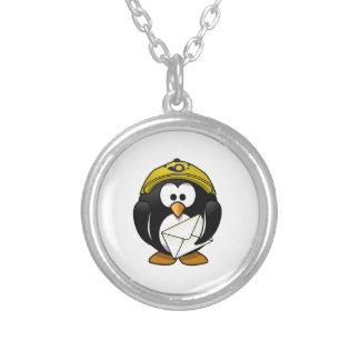 Postman Penguin Bird Cartoon Custom Necklace