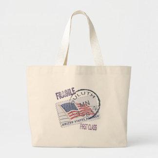 Postmark Duluth 55812 Tote Bags
