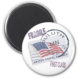 Postmark Duluth 55812 Fridge Magnet