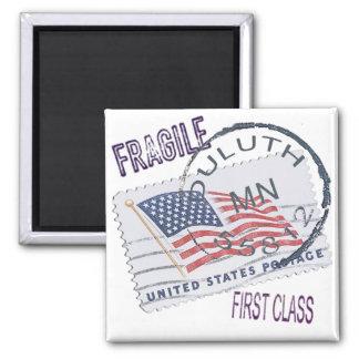 Postmark Duluth 55812 Magnet