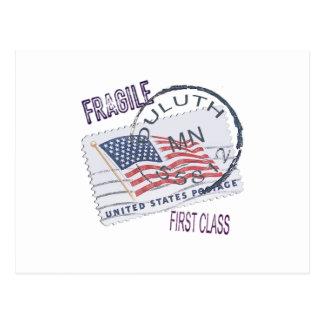 Postmark Duluth 55812 Postcard