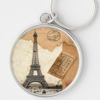 Postmark, Paris Keychain
