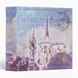 "Postmarked Notre Dame 1.5"" Photo Album 3 Ring Binder"