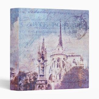 "Postmarked Notre Dame 1"" Photo Album 3 Ring Binder"