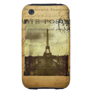 Postmarked Paris iPhone 3 Tough Covers