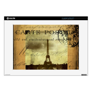 """Postmarked Paris Decals For 15"""" Laptops"""