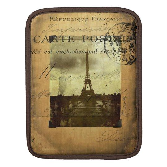 Postmarked Paris iPad Sleeve