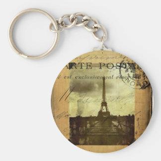 Postmarked Paris Keychain