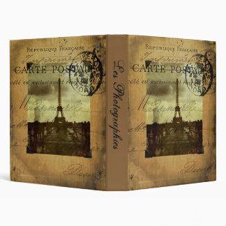"Postmarked Paris Les Photographies 1"" Photo Album Binder"