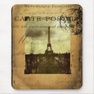 Postmarked Paris Mouse Pad
