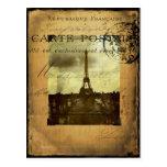 Postmarked Paris Post Card