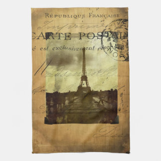 Postmarked Paris Towel