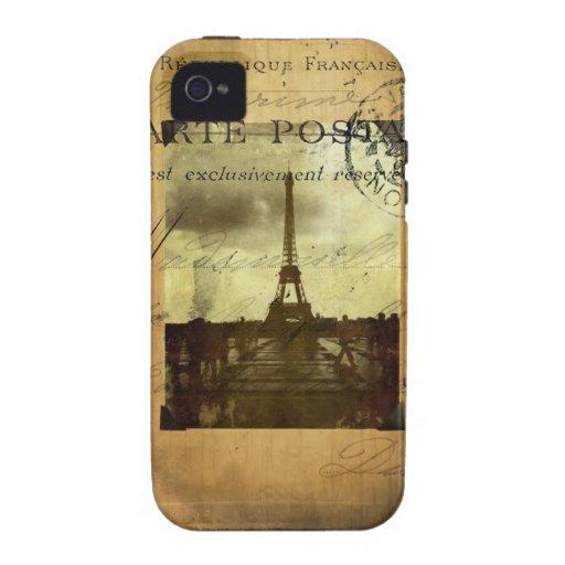 Postmarked Paris Vibe iPhone 4 Case
