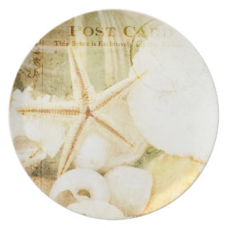 Postmarked Starfish Dinner Plate