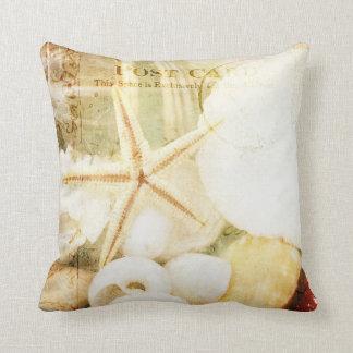 Postmarked Starfish Pillow