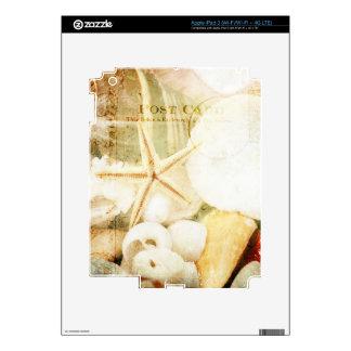 Postmarked Starfish Decal For iPad 3