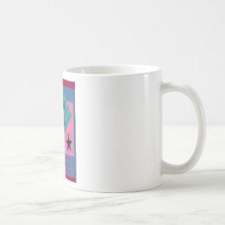 Postmodern Palm Bird Mugs