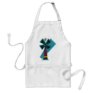 Postmodern Palm Bird Sans Background Adult Apron