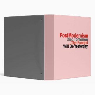 PostModernism 2.0 Pink Binder
