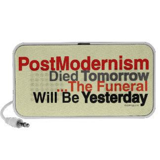 PostModernism Died Tomorrow Audio Speaker