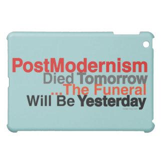 Postmodernism (Mod Teal) iPad Mini Cover
