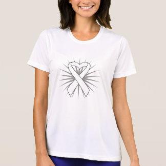 Postpartum Depression Heart Ribbon Tee Shirts