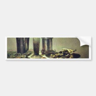 Postre de Heda Willem Claesz. (la mejor calidad) Etiqueta De Parachoque