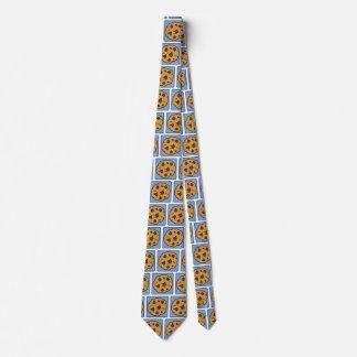 Postre de la galleta de microprocesador de corbata