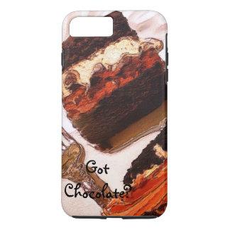 Postre decadente del chocolate del caso del iPhone Funda iPhone 7 Plus