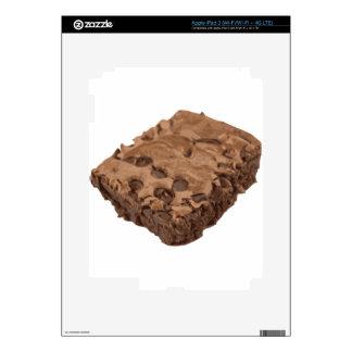 Postre Scrumptious del dulce del brownie Pegatinas Skins Para iPad 3
