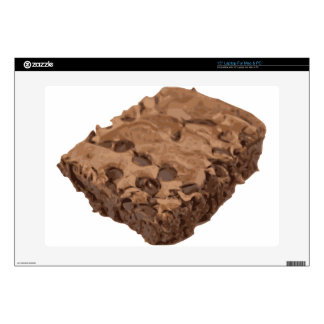 Postre Scrumptious del dulce del brownie Portátil Skins