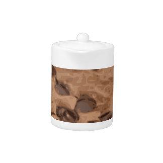 Postre Scrumptious del dulce del brownie