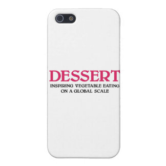 Postre y verduras (edición rosada) iPhone 5 carcasa