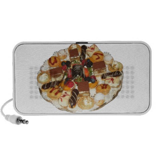 Postres dulces notebook altavoces