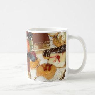 Postres dulces taza