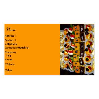 Postres y tarjeta de visita de Sweetsd_