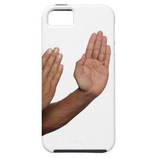 Postura 2 del karate funda para iPhone SE/5/5s