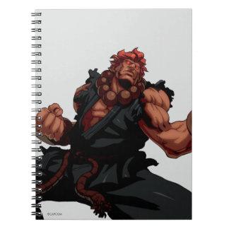Postura de Akuma Note Book